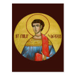 St Philip la tarjeta del rezo del diácono Tarjetas Postales