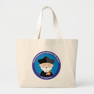St. Philip Neri Large Tote Bag