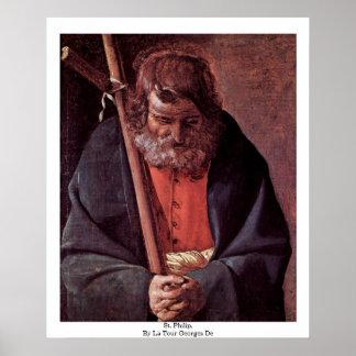 St Philip, por el viaje Jorte De del La Posters