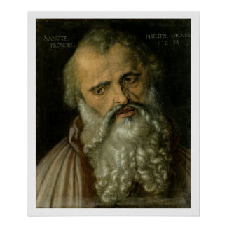 St. Philip the Apostle, 1516 (oil on canvas) Poster