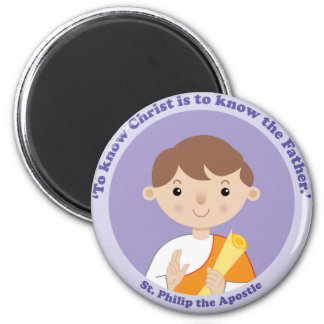 St. Philip the Apostle 2 Inch Round Magnet