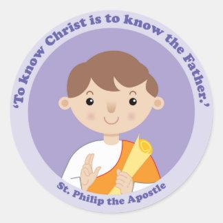 St. Philip the Apostle Classic Round Sticker