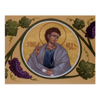 St. Philip the Apostle Prayer Card Postcard