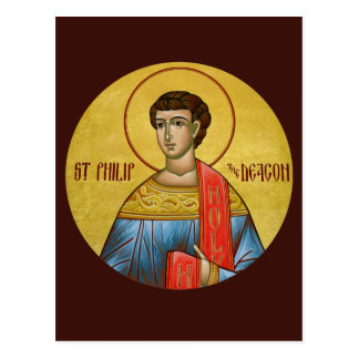 St. Philip the Deacon Prayer Card Post Cards
