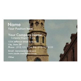 St. Philip's Church, Charleston, S.C. classic Phot Double-Sided Standard Business Cards (Pack Of 100)