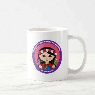 St. Philomena Classic White Coffee Mug