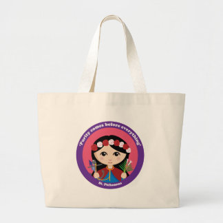 St. Philomena Large Tote Bag
