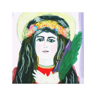 St. Philomena Lona Envuelta Para Galerias