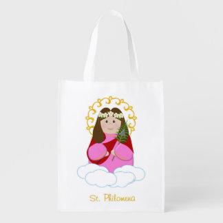 St. Philomena Mass Bag Grocery Bags