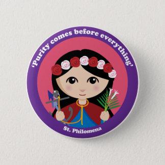St. Philomena Pinback Button