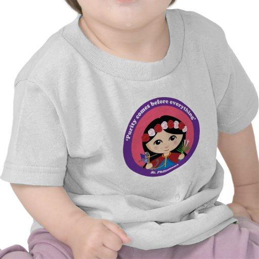 St. Philomena Camisetas