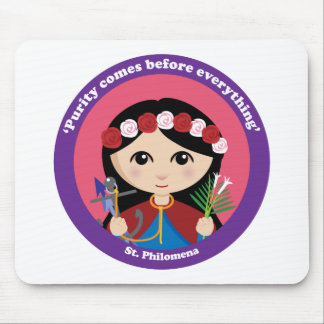 St. Philomena Tapetes De Ratón