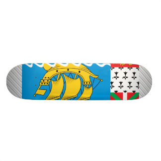 St. Pierre And Miquelon Flag Skate Boards