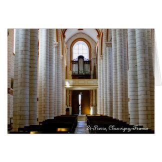 St Pierre, Chauvigny, Francia Felicitacion