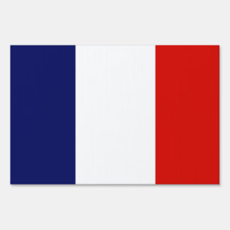 ST. PIERRE Flag Lawn Sign