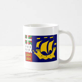 St Pierre Miquelon Local unofficial Flag Coffee Mugs