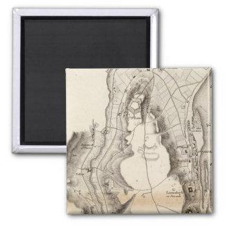 St Pierre Plateau Atlas Map Magnet