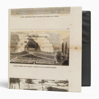 St Pierre Plateau Vinyl Binder