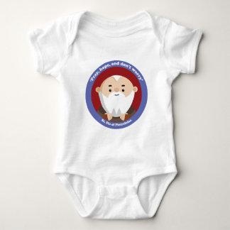 St Pio de Pietrelcina Body Para Bebé