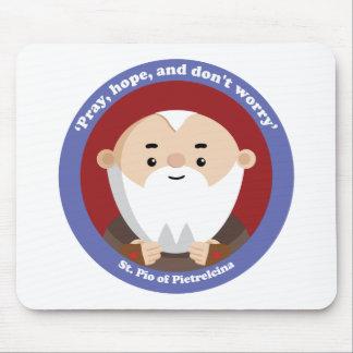 St Pio of Pietrelcina Mouse Pad