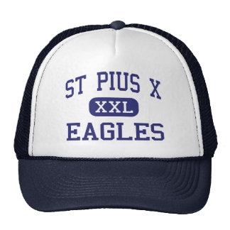 St Pío X - Eagles - altos - Kansas City Missouri Gorras De Camionero