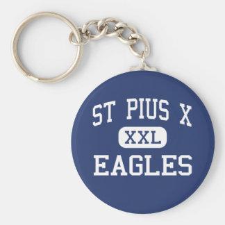 St Pío X - Eagles - High School secundaria - Festu Llavero Personalizado