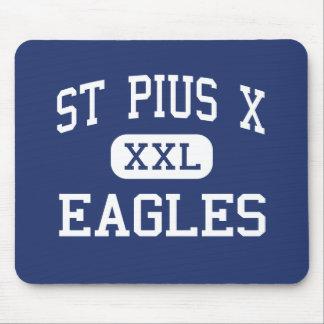 St Pius X - Eagles - High - Kansas City Missouri Mouse Pad