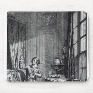 St. Preux Receiving the Portrait of Julie, Mouse Pad