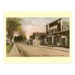 St. principal, puerto de Harwich, vintage de Massa Tarjeta Postal