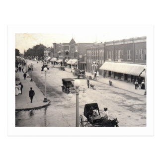 St. principal, Rahway, vintage de NJ Postales