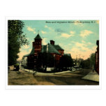 St principal, vintage 1912 de Phillipsburg NJ Postal