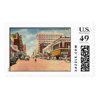 St. principal, vintage de Little Rock, Arkansas Timbres Postales