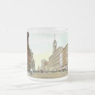 St. principal, vintage de Rochester, Nueva York Taza De Cristal