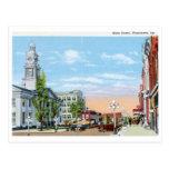St. principal, Winchester, vintage de Kentucky Tarjetas Postales
