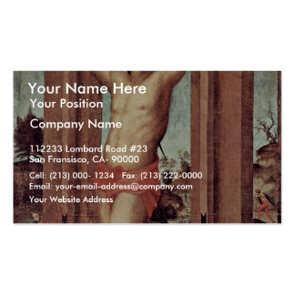St. Quintinus By Pontormo Jacopo (Best Quality) Double-Sided Standard Business Cards (Pack Of 100)