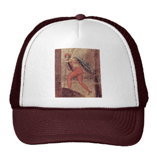 St Quintinus Detail By Pontormo Jacopo Best Qual Mesh Hat