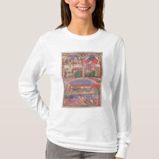 St. Radegund  at the table of Clothar I T-Shirt