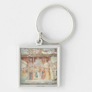 St Ranieri in the Holy Land, mid 14th century Keychain