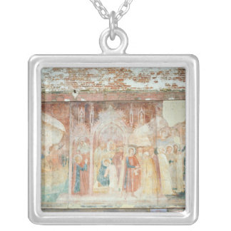 St Ranieri in the Holy Land, mid 14th century Square Pendant Necklace