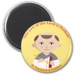 St. Raymond of Peñafort 2 Inch Round Magnet