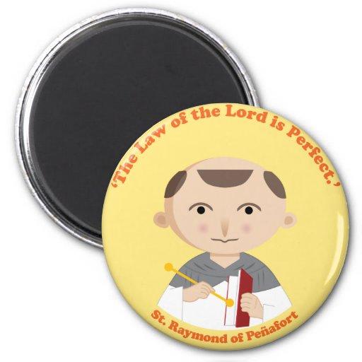 St. Raymond of Peñafort Fridge Magnets