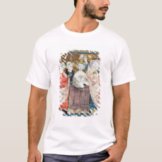 St. Remigius, Bishop of Rheims  baptising T-Shirt