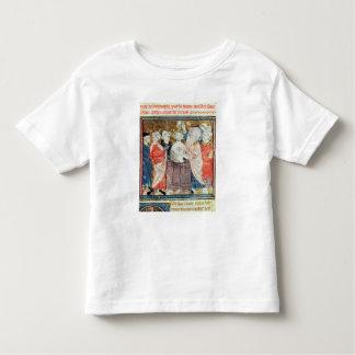 St. Remigius, Bishop of Rheims  baptising Toddler T-shirt