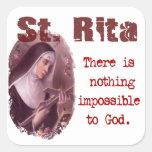 St. Rita Colcomanias Cuadradases