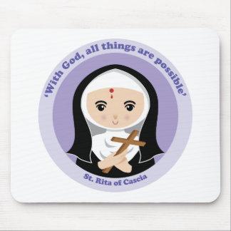 St. Rita de Cascia Alfombrillas De Raton