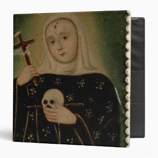 """St. Rita de Casia Carpeta 1 1/2"""""""