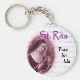 St. Rita Key Chain