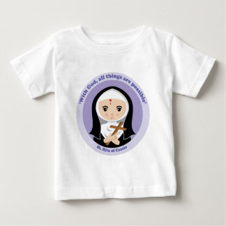 St. Rita of Cascia Baby T-Shirt