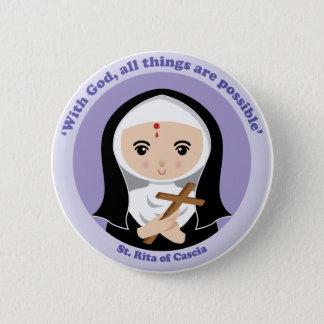 St. Rita of Cascia Button