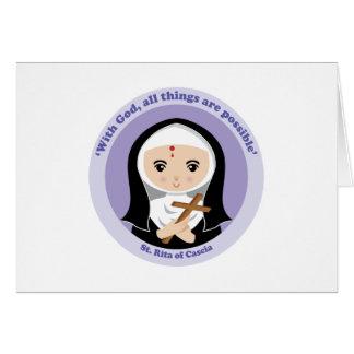 St. Rita of Cascia Card